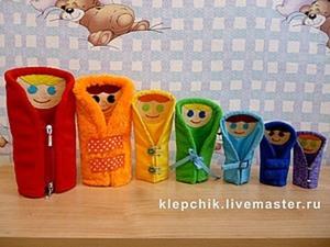 Матрёшки-застёжки своими руками: делаем развивающую игрушку. Ярмарка Мастеров - ручная работа, handmade.