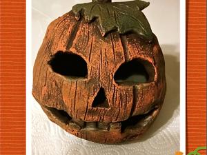 Создаем символ осени и праздника Хэллоуин. Ярмарка Мастеров - ручная работа, handmade.