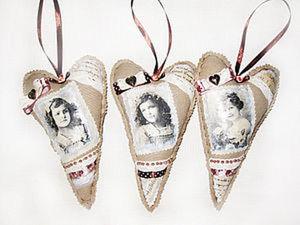 Сердце подвеска винтажное. Ярмарка Мастеров - ручная работа, handmade.