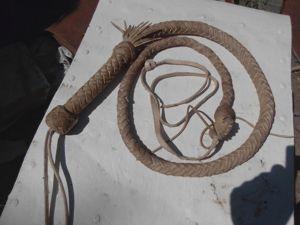 Подробный мастер-класс: плетение кнута (нагайки). Ярмарка Мастеров - ручная работа, handmade.