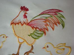 Акция! Последняя неделя перед Пасхой скидка 50% на все столешницы с петушками. Ярмарка Мастеров - ручная работа, handmade.