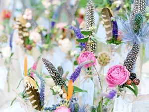Перья для оформления свадьбы в бохо-стиле. Ярмарка Мастеров - ручная работа, handmade.