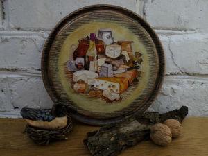 Мастер-класс по декору сырной доски. Ярмарка Мастеров - ручная работа, handmade.