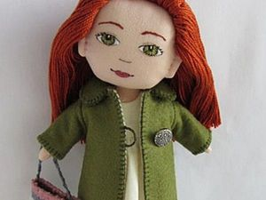 Tutorial for Girls: Sewing a Coat for a Doll. Livemaster - handmade