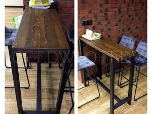 Барный стол в стиле лофт. Ярмарка Мастеров - ручная работа, handmade.