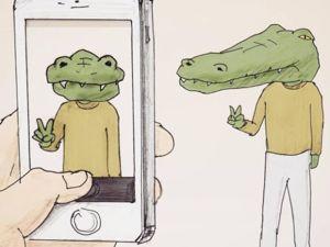 Мимо крокодил: 50 картинок, которые заставят вас улыбнуться. Ярмарка Мастеров - ручная работа, handmade.