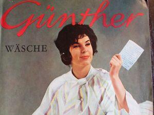 Gunther — спец. выпуск —  Красивое  бельё — 1950-60e. Ярмарка Мастеров - ручная работа, handmade.