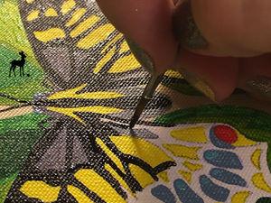 Круглая сумочка на лето. Ярмарка Мастеров - ручная работа, handmade.