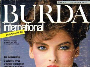 Burda International  «Весна-85» , фото моделей. Ярмарка Мастеров - ручная работа, handmade.