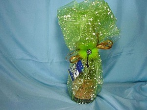 Праздничный декор бутылки. Ярмарка Мастеров - ручная работа, handmade.
