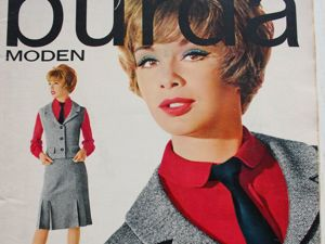 Burda moden- 1/1963 — Бурда Моден. Ярмарка Мастеров - ручная работа, handmade.