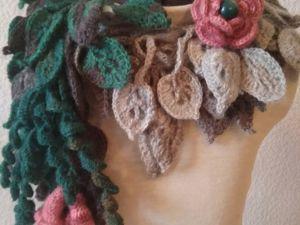 Распродажа шарфиков — колье!!!от 799 руб. Ярмарка Мастеров - ручная работа, handmade.