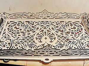 Мастер-класс по изготовлению подноса. Часть 1. Ярмарка Мастеров - ручная работа, handmade.