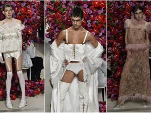 С улыбкой об альтернативной моде: показ дизайнера Palomo на Неделе мужской моды в Нью-Йорке. Ярмарка Мастеров - ручная работа, handmade.