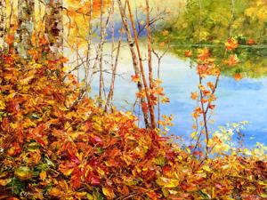 Осенняя природа вдохновляла многих творческих людей!. Ярмарка Мастеров - ручная работа, handmade.