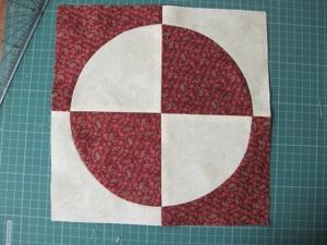 Раскрой деталей для блока с криволинейными срезами при помощи пластиковых шаблонов. Ярмарка Мастеров - ручная работа, handmade.