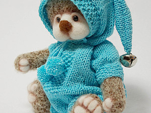 Комбинезончик  для мишки или куклы. Ярмарка Мастеров - ручная работа, handmade.