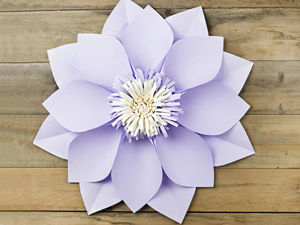 Мастерим простые цветы из бумаги. Часть 1. Ярмарка Мастеров - ручная работа, handmade.