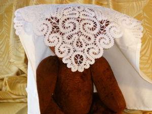 Уголок кружевной в коляску. Ярмарка Мастеров - ручная работа, handmade.