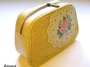Особенности обработки сумок кедером. Шьем косметичку с каркасом. Ярмарка Мастеров - ручная работа, handmade.