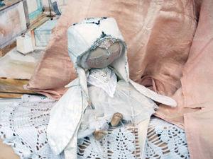 Завершение образа: мастер-класс по созданию текстильной куклы. Часть 3. Ярмарка Мастеров - ручная работа, handmade.