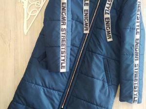 Пальто в королевском синем цвете. Ярмарка Мастеров - ручная работа, handmade.