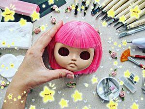 Кастом куклы Блайз. Этап 1. Ярмарка Мастеров - ручная работа, handmade.