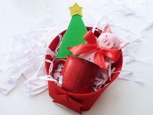 Мастерим новогодний подарок своими руками. Ярмарка Мастеров - ручная работа, handmade.