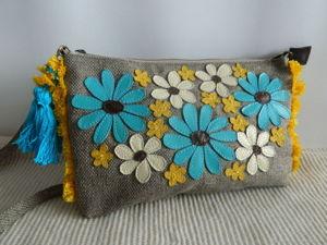 Аукцион с 0. На текстильные летние сумочки. Ярмарка Мастеров - ручная работа, handmade.