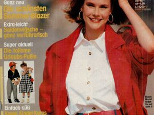 Neue mode 4 1988 (апрель). Ярмарка Мастеров - ручная работа, handmade.