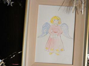 Открытка Ангелочек. Ярмарка Мастеров - ручная работа, handmade.