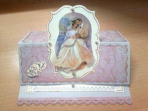 Свадебная открытка. Ярмарка Мастеров - ручная работа, handmade.
