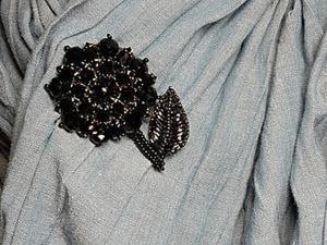 Делаем брошь-цветок «Георгина». Ярмарка Мастеров - ручная работа, handmade.