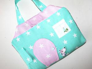Шьем сумку-домик для куколки. Ярмарка Мастеров - ручная работа, handmade.