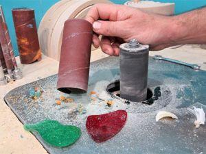 Как очистить шлифовальную ленту акриловым стеклом. Ярмарка Мастеров - ручная работа, handmade.