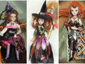 Моя Ведьма (ведьмочка), Колдунья —  в сказочном костюме. Ярмарка Мастеров - ручная работа, handmade.
