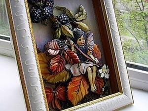 Объемный декупаж (арт-франчез). Ярмарка Мастеров - ручная работа, handmade.