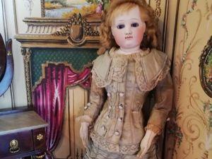 Встреча с редкими куклами XIX века. Ярмарка Мастеров - ручная работа, handmade.