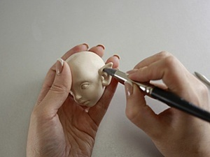 Мастер-класс: лепим эльфийские ушки кукле. Ярмарка Мастеров - ручная работа, handmade.