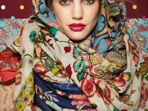 Простые способы ношения палантина в холодное время года. Ярмарка Мастеров - ручная работа, handmade.