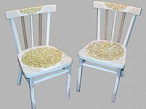Вторая жизнь старого стула. Ярмарка Мастеров - ручная работа, handmade.