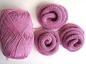 How to Easily Knit a Rose Flower. Livemaster - handmade
