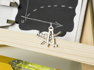 Новая брошка-значок дня технарей — Автокад. Ярмарка Мастеров - ручная работа, handmade.