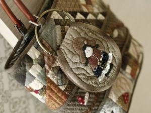 Шьем японскую ключницу с аппликацией. Часть 2. Ярмарка Мастеров - ручная работа, handmade.