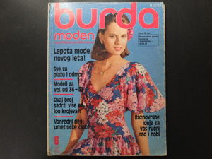 Бурда моден 1978/6 Burda moden. Ярмарка Мастеров - ручная работа, handmade.