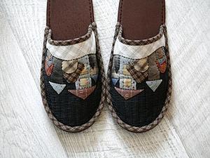 Шьем уютные домашние тапочки. Ярмарка Мастеров - ручная работа, handmade.