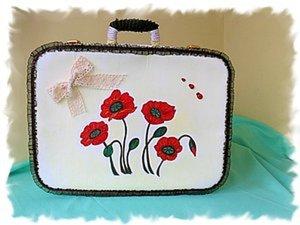 Вторая жизнь советского чемодана. Ярмарка Мастеров - ручная работа, handmade.