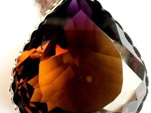 Видео кулона с роскошным,бразильским аметрином.Уникальный камень!. Ярмарка Мастеров - ручная работа, handmade.