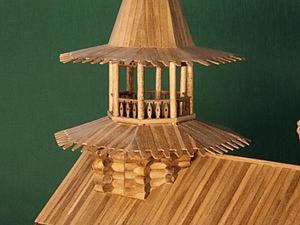 Собираем макет часовни из деревни Вигово. Часть 1. Ярмарка Мастеров - ручная работа, handmade.
