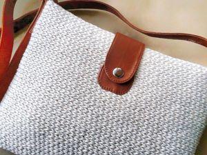 Вяжем сумочку. Ярмарка Мастеров - ручная работа, handmade.